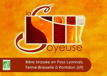 Logo de la brasserie La Soyeuse à Rontalon (69)