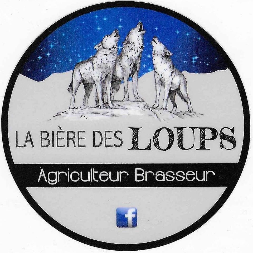 Logo de la brasserie la bière des loups à Chaussan (69)