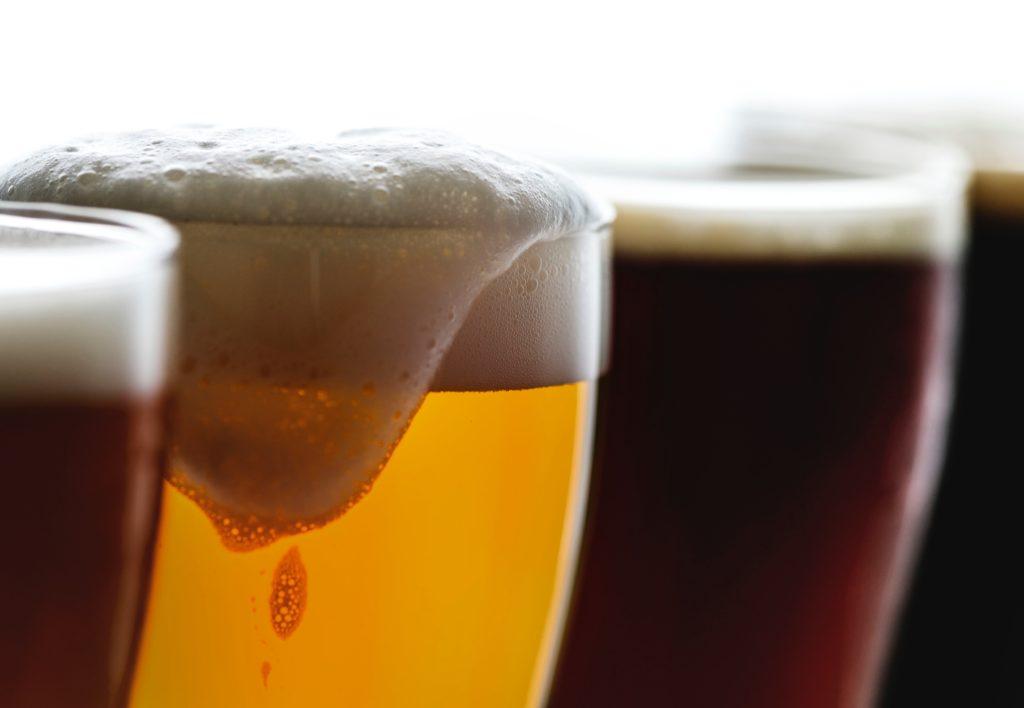 mousse couleur brassage biere