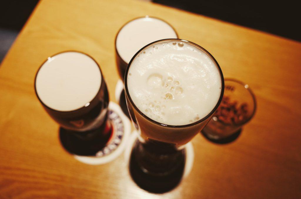 mousse verres brassage biere 2