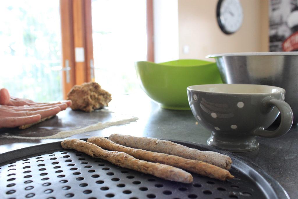 roulage des gressins aux drêhes