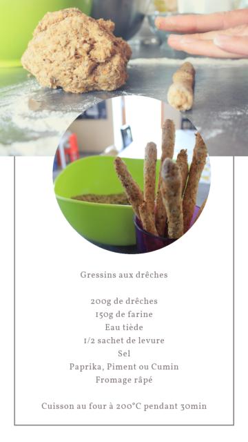 recette gressins