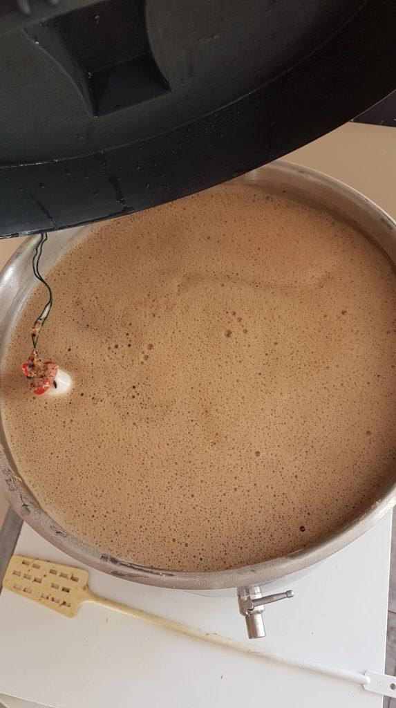 Ebullition bière de noël