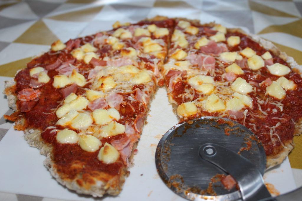Pâte à pizza aux drêches