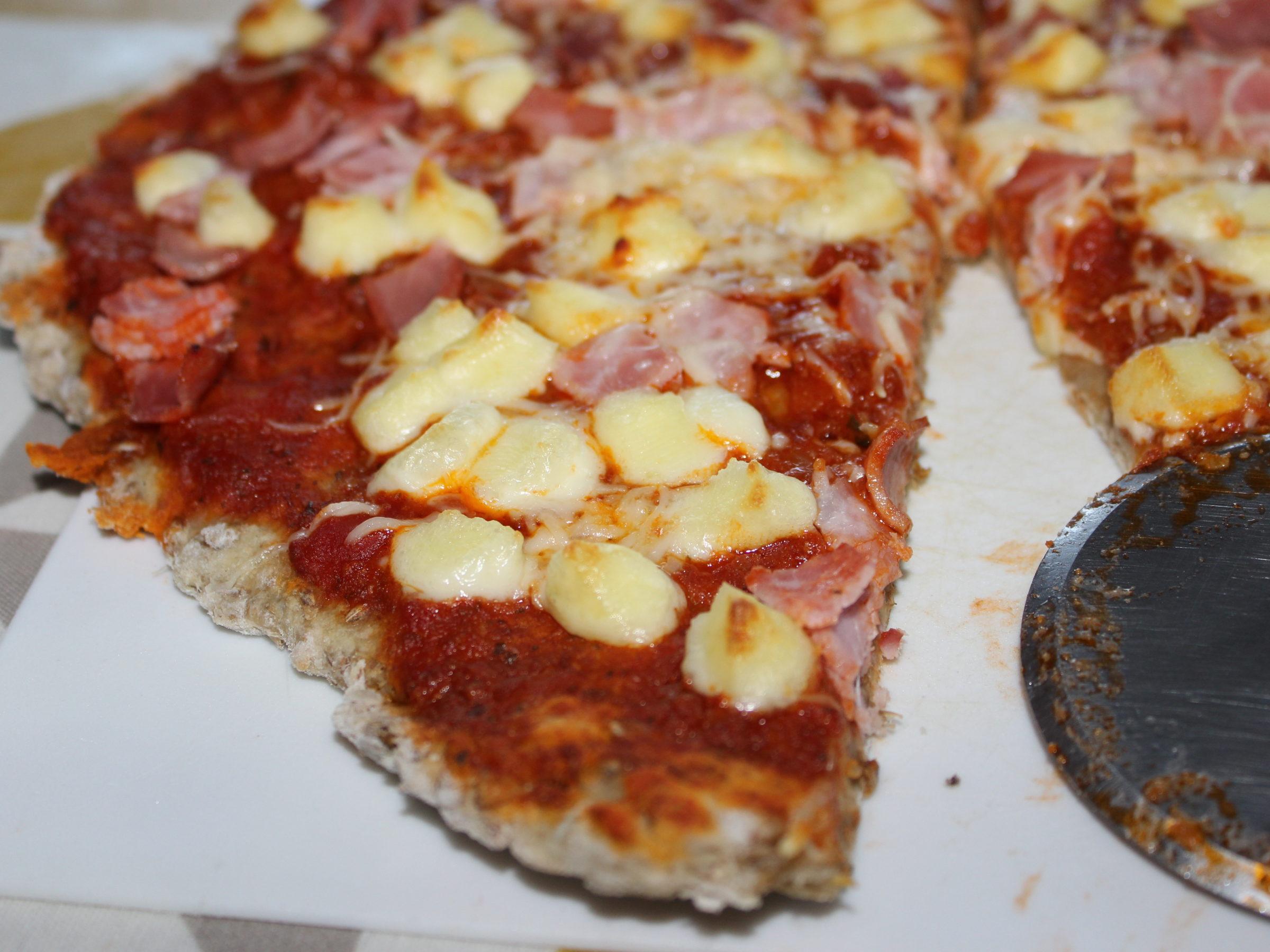 Pizza aux drêches