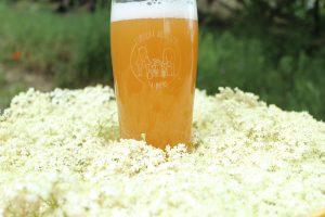 L'Épicure, une bière au sureau