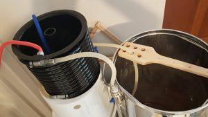 J'ai raccordé un refroidisseur Grainfather sur ma cuve Klarstein et autres customisations