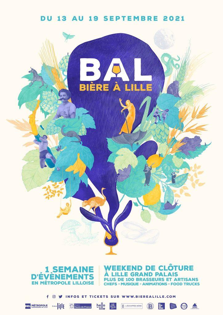 Le BAL Bière à Lille aura lieu du 13 au 19 septembre 2021