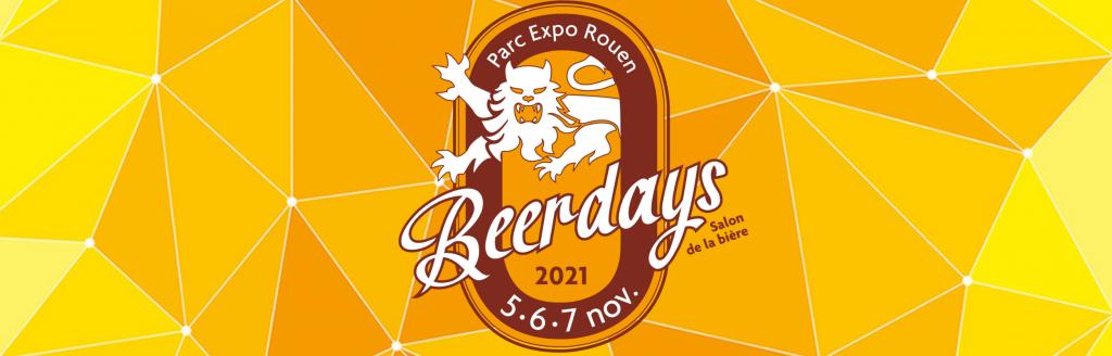 Le Beerdays, c'est le salon de la bière à Rouen, du 5 au 7 novembre 2021